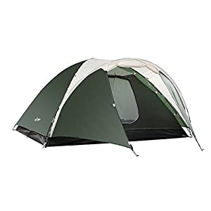41cDELB%2BLOL. SS300  - Semoo Lightweight 3-Season Camping/Traveling Tent Double Layer, 3-4 Person Waterproof Dome Tent with Carry Bag