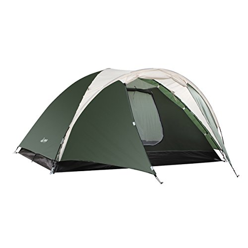 41cDELB%2BLOL. SS500  - Semoo Lightweight 3-Season Camping/Traveling Tent Double Layer, 3-4 Person Waterproof Dome Tent with Carry Bag