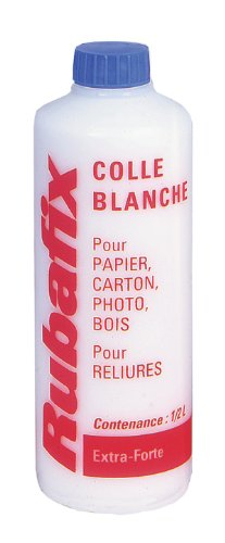 Rubafix 845000 - Cola (500 ml), color blanco