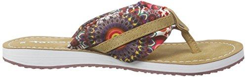 Tamaris27109 - Infradito Donna Multicolore (Mehrfarbig (FLOWER/NUT 910))