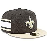 separation shoes 8f5da bc4a6 New Era New Orleans Saints NFL Sideline 18 Home On Field Cap 59fifty Fitted  OTC