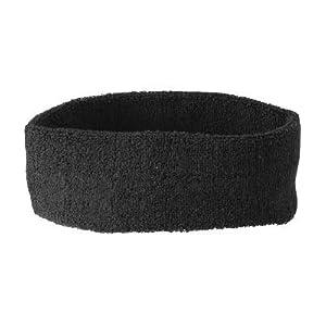MB 42 Frotteestirnband – schwarz