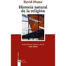 Historia natural de la religión (Clásicos - Clásicos Del Pensamiento)