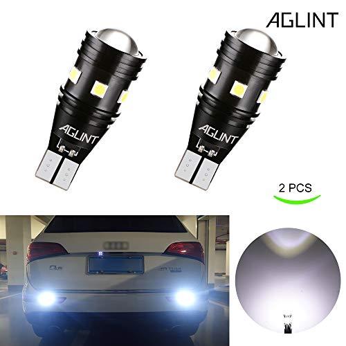 AGLINT T15 W16W LED Ampoule CANBUS Sans Erreurs 3030 9SMD 12V 24V Auto Parking Lumière de Sauvegarde Lumière 6000K Xenon Blanc
