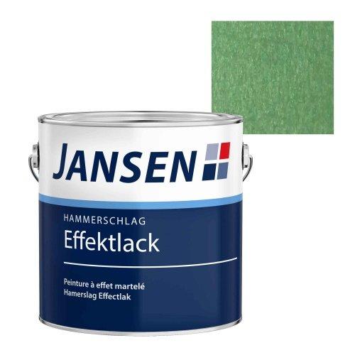 Pintura efecto martillado, verde, 2,5 l