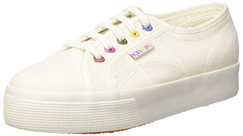 Superga Damen 2730-Cotw Colors Hearts Sneaker Bianco (White)