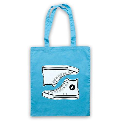 Allstars Basketball Shoes Umhangetaschen Hellblau