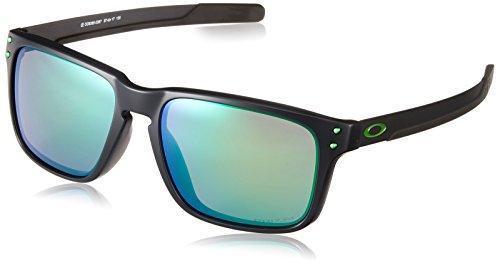 Oakley Men's Holbrook Mix (a) Non-Polarized Iridium Rectangular Sunglasses, Matte Black Ink, 57.0 mm