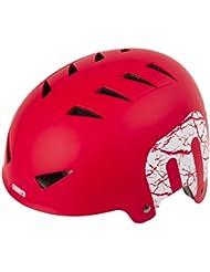 Mighty X-Style RM Casque de Vélo Mixte, Rouge, M