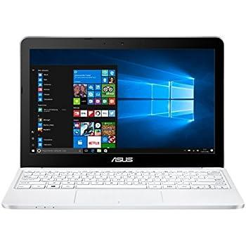 "ASUS E200HA-FD0041TS - Portátil de 11.6""  HD (Intel Atom x5-Z8350 , RAM de 2 GB, EMMC de 32 GB, Intel HD Graphics 400, Windows 10 Original) plástico blanco - Teclado QWERTY Español"