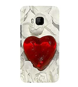 Vizagbeats love diamond Back Case Cover for HTC One M9::HTC M9