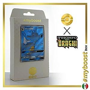 Kingdra-GX 66/70 Full Art - #myboost X Sole E Luna 7.5 Trionfo dei Draghi - Box de 10 Cartas Pokémon Italiano