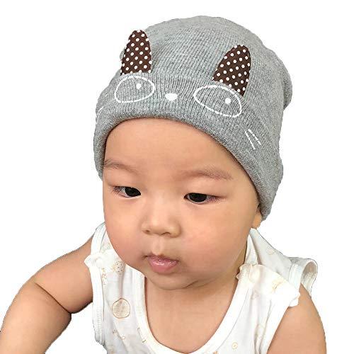 Chapeau Enfant ADESHOP Mode Enfant GarçOn Fille Chapeaux en Tricot  Confortables Chic Mignon Yeux Oreilles De 359a71e1a86
