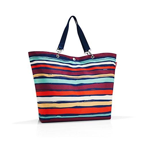reisenthel shopper XL artist stripes Maße: 68 x 45,5 x 20 cm / Volumen: 35 l