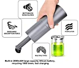 Diyeeni Aspirapolvere Portatile Mini, Aspirapolvere Portatile a Mano Ricaricabile USB Aspirapolvere Auto per la Pulizia dei Capelli