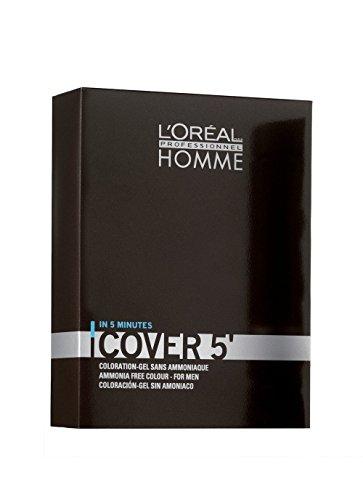 L'Oréal Professionnel - Coloration-Gel sans Ammoniaque Châtain Foncé 50 ml - Lot de 3