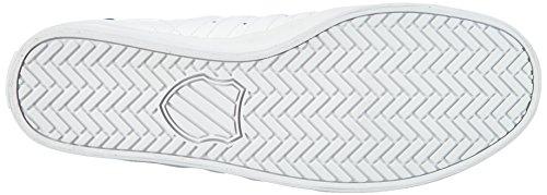 K-Swiss Belmont Herren Low-Top Weiß (WHITE/NAVY 109)