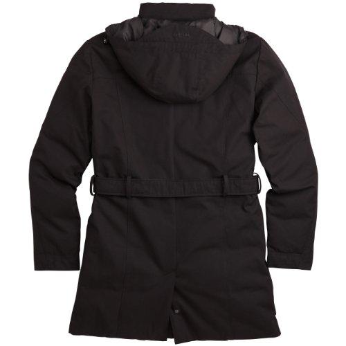 Surplus Homme Xylontum manteau d'hiver Veste plumes Black