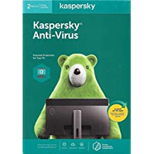 KASPERSKY ANTI-VIRUS 2020 - 2 USERS - AUTHENTIC MIDDLE EAST VERSION - 1 YEAR
