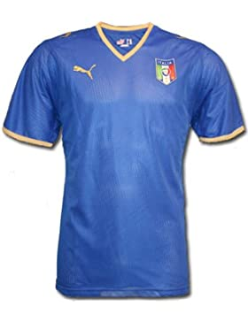 Puma 733916 - Camiseta de fútbol para hombre, tamaño L, color azul