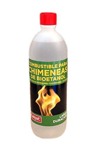 Alampat 306 - Bioetanol para lámparas y chimeneas, Color Transparente