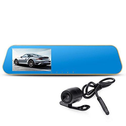 Mavel Dashcam,Full-HD-Rückspiegel-Dashcam, G-Sensor, 4,3