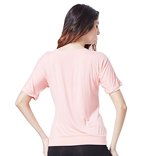 Greatrees - T-shirt - Manches Courtes - Femme Rose - Rose