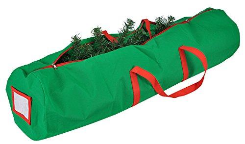 Preisvergleich Produktbild Tannenbaumhülle Weihnachtsbaumhülle grün 150 cm Weihnachtsbaum Transporthülle Weihnachtsbäume Tannenbaum Aufbewahrung Tasche