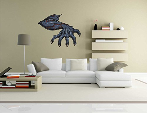 Indigos KAR-Wall-Misc1-Gothic2-58 Wandtattoo Misc1-Gothic2 - Freak Gotik - Wandaufkleber 58 x 46 cm
