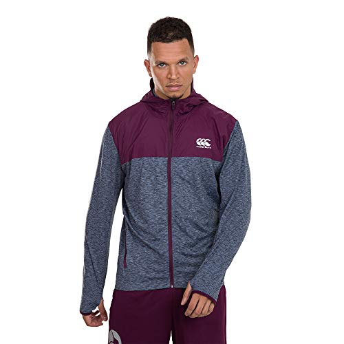 Canterbury Herren Vapodri Light Weight Training Jacke, Benzinschmelz, XXL
