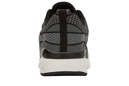 British Knights DEMON HOMMES BAS-TOP SNEAKER GRIS/NOIR