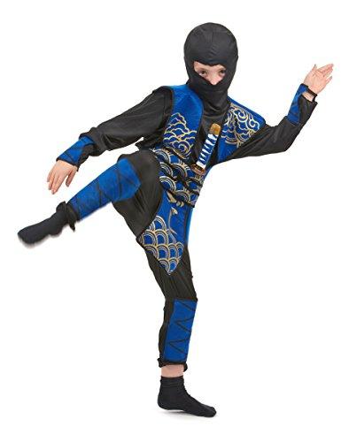 Déguisement ninja bleu garçon 4 à 6 ans