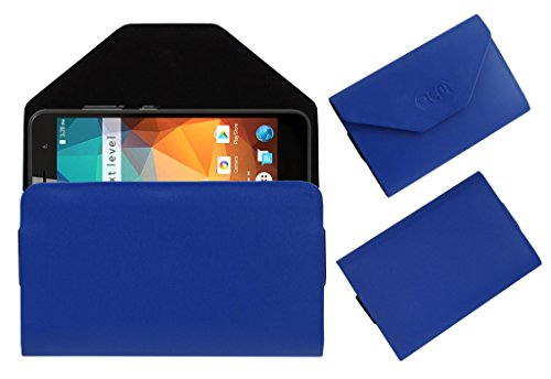 Acm Premium Flip Flap Pouch Case for Xolo Era 2x 3gb Mobile Leather Cover Blue  available at amazon for Rs.179