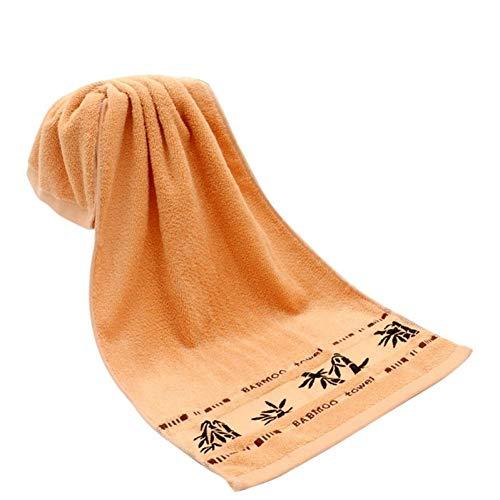 TDPYT 5 Stücke/Heimtextilien Grün Gesundheit Gesicht Handtuch Antibakterielle Pflege Haut Hohe Wasseraufnahme Bambusfaser Gesicht Handtücher