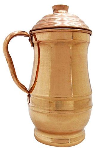 Traditionellen Kupferkanne Krug 2-Liter-Wasserspeicher Ayurvedischen Nutzen Für Die Gesundheit