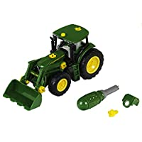 Theo Klein 3903 John Deere Tractor with Front Loader, Toy, Multi-Colored