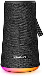 Soundcore Flare+ Portable 360° Bluetooth Speaker by Anker, Huge 360° Sound, IPX7 Waterproof, Bigger Bass, Ambient LED Light,