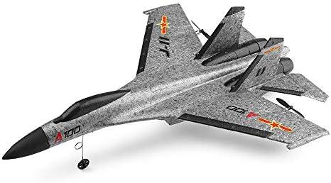 Yogogo RC Drone Quadricoptère&hélicoptère,Matériau Composite EPP 14 WLtoys A100 SU-27 3CH 2.4G Avion RC RC Planeur | Un Approvisionnement Suffisant