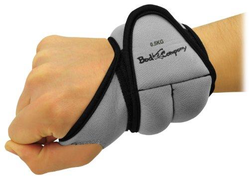 Pro Laufgewichte Gewichtsmanschetten 2x0,5 Kg Hand Gewichte