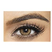 Bella Diamond Collection Unisex Cosmetic Contact Lenses - Brown Shadow - [ BL-BR-SH Power 0.00]