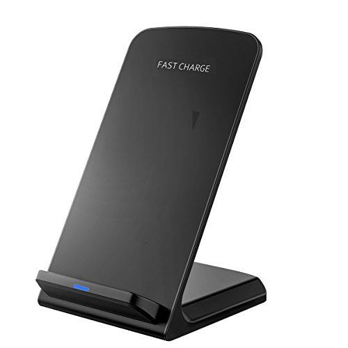 Fast Wireless Charger, [Update Version]Pictek Quick Charge, Fast Charger, Wireless Charging Pad for Samsung, Smartphones, Qi-enabled Devices Test