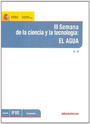 III Semana de la ciencia y la tecnología: el agua (Innovación) por Carmen Arnedo Franco