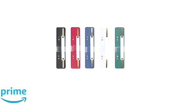 Herlitz 8767501/Bandes carnet PP 3,4/x 15/cm lot de 10 couleurs assorties Multicolore 25 St/ück Multicolore