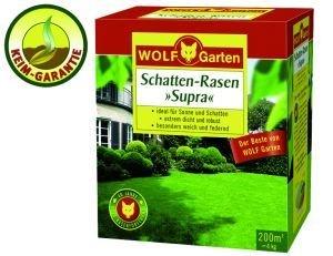 WOLF-GARTEN Schatten-Rasensamen 'Supra' Rasensamen für ca. 100 qm