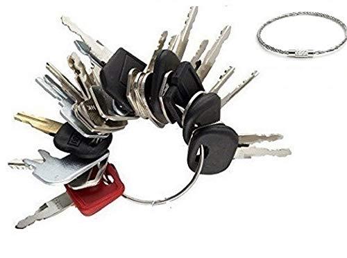 Preisvergleich Produktbild abc_zok 24 Schlüssel Konstruktion Zündschlüssel Set / Schwerer Ausrüstung Konstruktion Schlüssel Set (24 Schlüssel)