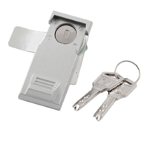 Schrank Tür Schrank Schublade 21,5mm Gewinde Cam Lock w 2Schlüssel