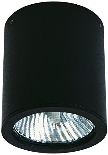 Spot extérieur Albert 662380, aluminium, Integrated, noir