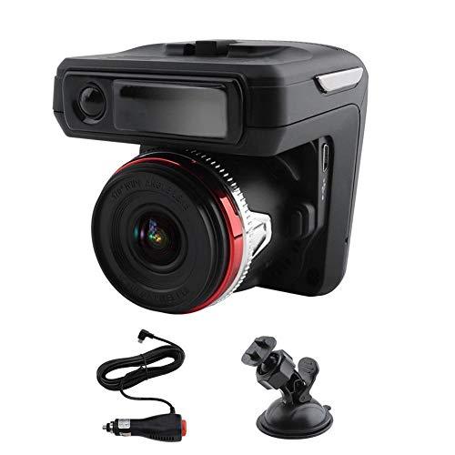 Generp 2-in-1-Kamera-Recorder für Armaturenbrett, HD 1080P, Auto-DVR, Fahr-Recorder, Radar-Laser-Tacho, Auto-Dash-Cam (Dash Cam 118)