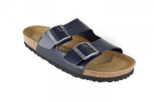 JOE N JOYCE London Nappa sottopiede morbido sandali Normale Blue