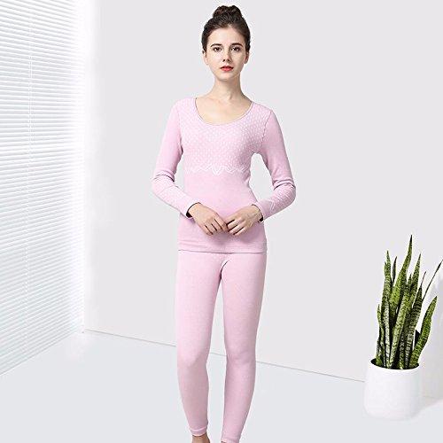 llpxcc biancheria intima termica traspirante da donna abbigliamento coppie maschio Die code (F) Cotone Confezione Regalo PresidentThe elegant Purple